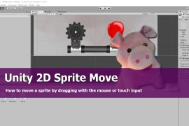 Unity 2D Sprite animation : Drag Player