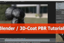Blender and 3D-Coat: PBR Shader Tutorial