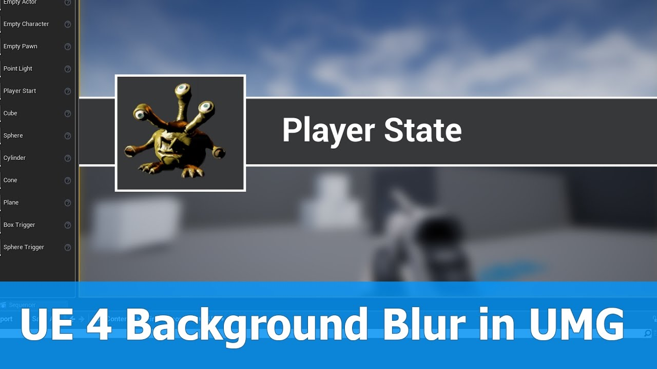 UE 4.15 released with Background Blur for UMG
