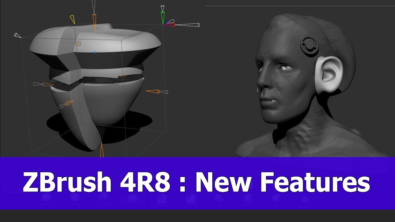 New Features in ZBrush 4R8