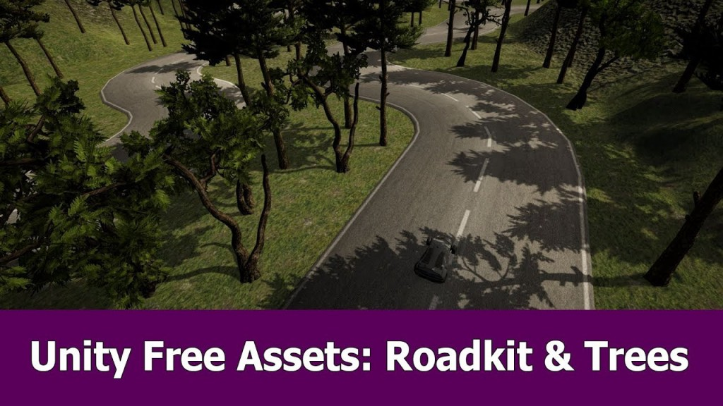 Free Unity Assets Review: Road kit and Trees | JayAnAm - Gamedev