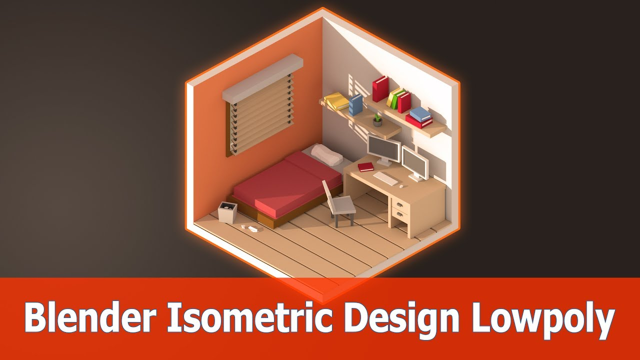 Blender isometric low poly rooms jayanam gamedev tutorials blender isometric low poly rooms baditri Choice Image