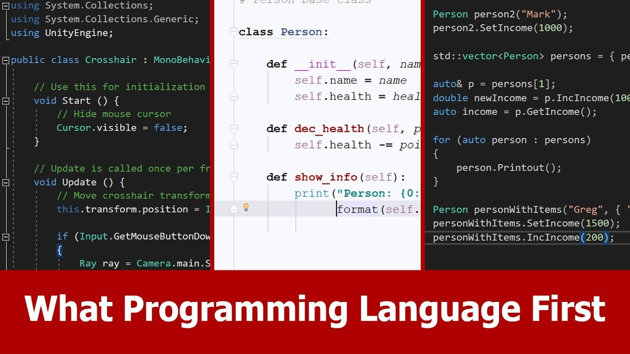 What's the Best Programming Language to Learn First? It ...